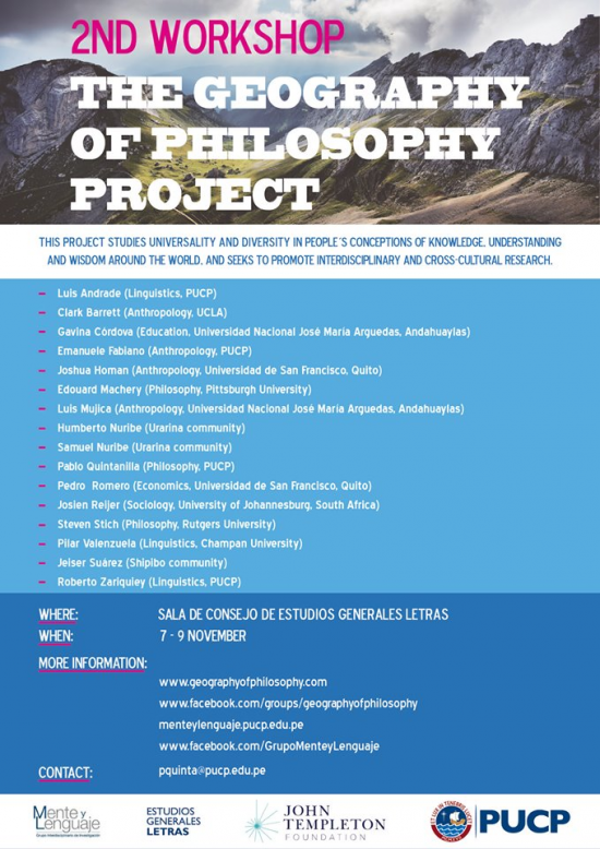 geography of philosophy
